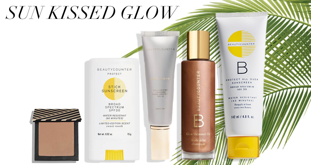 sunkissed glow products beautycounter